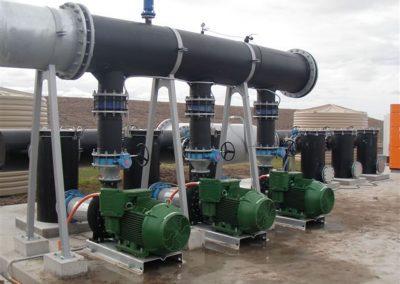 HDPE pump manifold 1